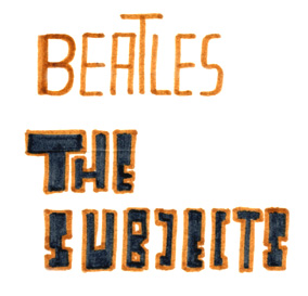 beatles-subjects